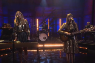 "First Aid Kit Perform ""Stay Gold"" On 'Conan': Watch"