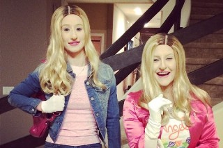 Iggy Azalea Dressed As 'White Chicks' For Halloween: Morning Mix