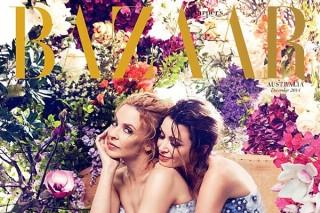 Kylie And Dannii Minogue Cover 'Harper's Bazaar' Australia: Morning Mix