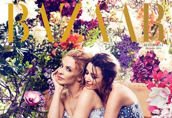 Kylie And Dannii Minogue Cover 'Harper's Bazaar' Australia: Morning Mix