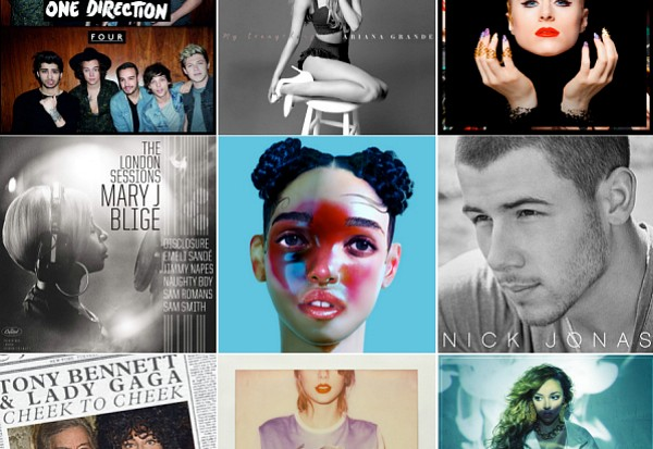 2014 Idolator Poll Best Albums 2014 part II