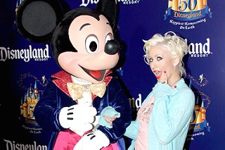 """Christina Aguilera Reportedly Called Mickey Mouse """"An A–Hole"""" At Disneyland"""