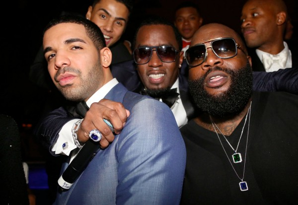 Drake Diddy Rick Ross