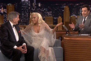 "Lady Gaga Talks Strippers On The 'Tonight Show', Performs ""Ev'ry Time We Say Goodbye"": Watch"