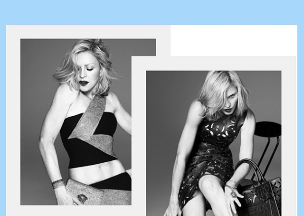 Madonna Versace spring 2015