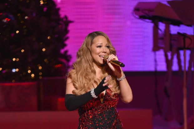 Mariah Carey's Christmas Concert In NYC