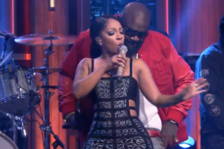 "K. Michelle And Rick Ross Perform ""If They Knew"" On 'Tonight Show Starring Jimmy Fallon': Watch"