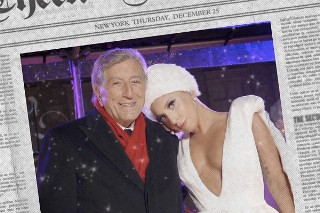 "Surprise! Tony Bennett And Lady Gaga Covered ""Winter Wonderland"": Listen To Their Jazzy Rendition"