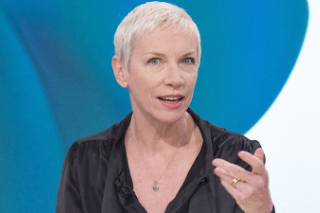 Annie Lennox Questions Madonna's Sexy 'Interview' Spread