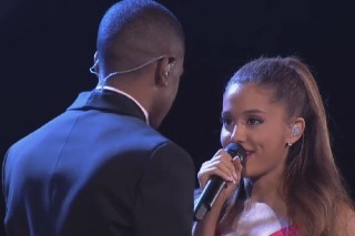 Ariana Grande And Big Sean's First Performance As A Couple Airs On 'A Very Grammy Christmas': Watch