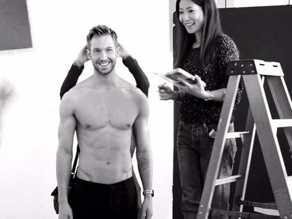 Calvin Harris Shirtless Calvin Harris Is Shirt...