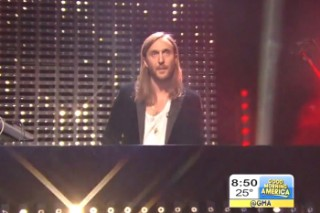 "David Guetta Makes His Breakfast TV Debut: Watch Him And Sam Martin Perform ""Dangerous"" On 'GMA'"