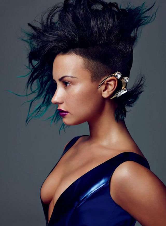 » Demi Looks Fierce For 'Allure', Praises Kim Kardashian ...