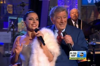 "Lady Gaga And Tony Bennett Perform ""Winter Wonderland"" On 'Good Morning America': Watch"