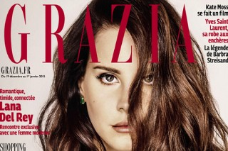 Lana Del Rey Serves Casual Chic In French 'Grazia' Magazine: See All 7 Of The Stylish Pics