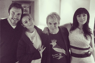 Is Lindsay Lohan Recording Music With Duran Duran?