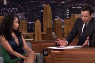 Nicki Minaj Talks Yearbook Photos And Red Lobster On 'Jimmy Fallon': Watch