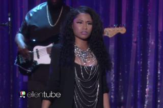 """Nicki Minaj Performs """"Bed Of Lies"""" On 'The Ellen Degeneres Show': Watch"""