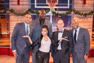 Nicki Minaj Freestyles With Shaquille O'Neal On 'Inside The NBA': Watch