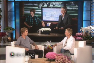 Justin Bieber Surprises Ellen For Her Birthday & She Asks Why He's Doing The Comedy Central Roast: Watch