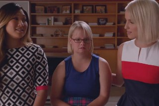 'Glee' Recap: Santana's Proposal, Coach Bieste's Announcement & Becky's Boyfriend