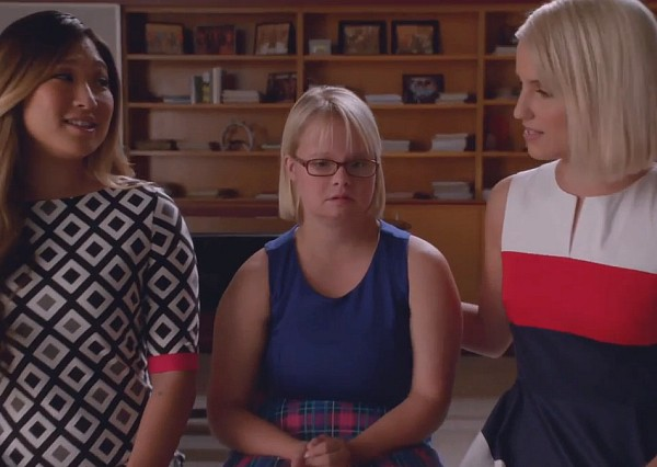 Glee Jagged Little Tapestries 2015 Becky Tina Quinn So Far Away Dianna Agron Jenna Ushkowitz Lauren Potter