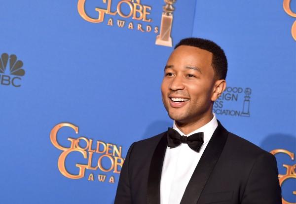John Legend 2015 Golden Globe Awards Glory Selma Best Original Song