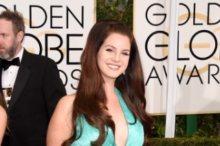 Golden Globe Awards 2015: Lana Del Rey Looks Amazing In Aqua On The Red Carpet (7 Photos)