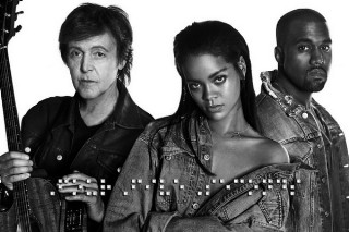 """Rihanna's """"FourFiveSeconds (feat. Kanye West & Paul McCartney)"""": Review Revue"""
