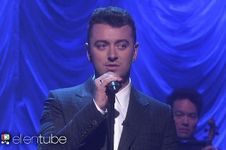 """Sam Smith Performs """"Lay Me Down"""" On 'Ellen': Watch"""
