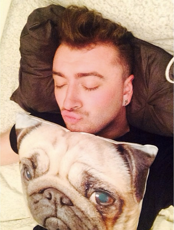 Sam Smith's Instagram Selfies