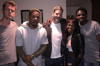 Azealia Banks Hits The Studio With Dr. Luke, Rock City And Cirkut