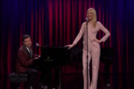 Gwyneth Paltrow Sings Broadway Versions Of Nicki Minaj, Drake And Big Sean On 'Jimmy Fallon': Watch