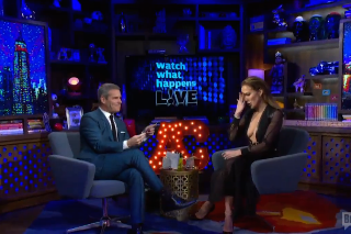 Jennifer Lopez Chooses Between Britney And Mariah's Vegas Shows During 'Watch What Happens Live': Watch