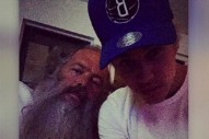 "Justin Bieber Is ""Working On Some History"" With Rick Rubin In The Studio"