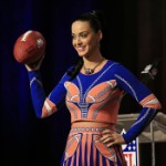 Katy Perry Holds Super Bowl Press Conference