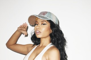 Nicki Minaj Gets Patriotic For Terry Richardson In The January Issue Of 'Rolling Stone': 5 Photos