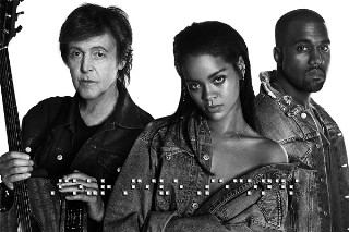"""Rihanna Drops """"FourFiveSeconds"""" Featuring Paul McCartney And Kanye West: Listen"""