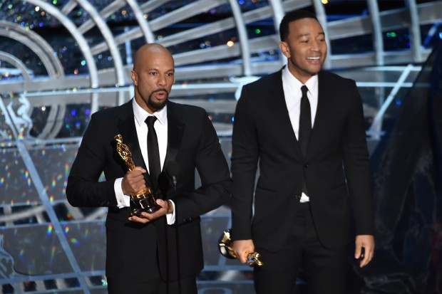 Academy Awards Oscars 2015 John Legend Common