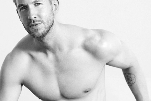 Calvin Harris underwear naked nude emporio armani shirtless 1 crop
