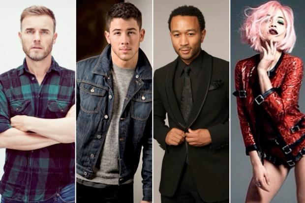 Finding Neverland Gary Barlow Nick Jonas John Legend Rita Ora