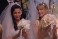 'Glee' Recap: Santana & Brittany Have A 'Wedding,' Gina Gershon & Gloria Estefan Guest Star