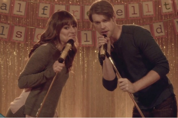 Glee Time After Time Transitioning Rachel Sam Lea Michele 2015