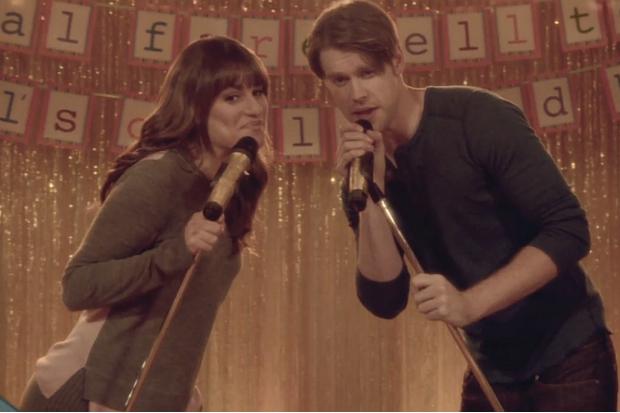 Sam and rachel dating glee
