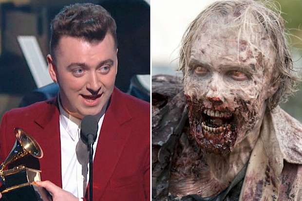 Grammy Awards Sam Smith Grammys 2015 Walking Dead ratings
