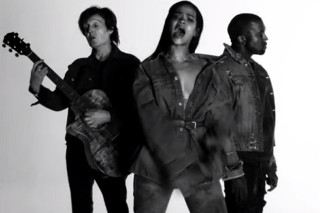 "Rihanna, Kanye West & Paul McCartney's ""FourFiveSeconds"": 16 Impressive Stats Regarding The Song Going Top 10"