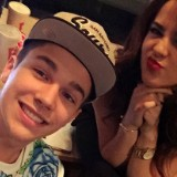 Austin Mahone And Becky G Hit The Studio