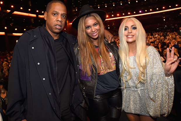 Beyonce jayz lady gaga stevie wonder tribute