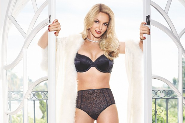 Britney Spears Reveals New Lingerie Designs From Her ...
