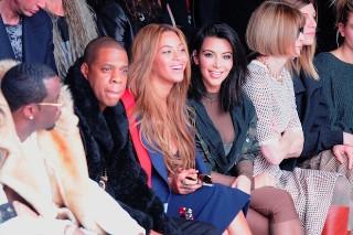 Kim Kardashian, Rihanna & Beyonce Sit Front Row At Kanye West's Adidas Fashion Show: 15 Photos